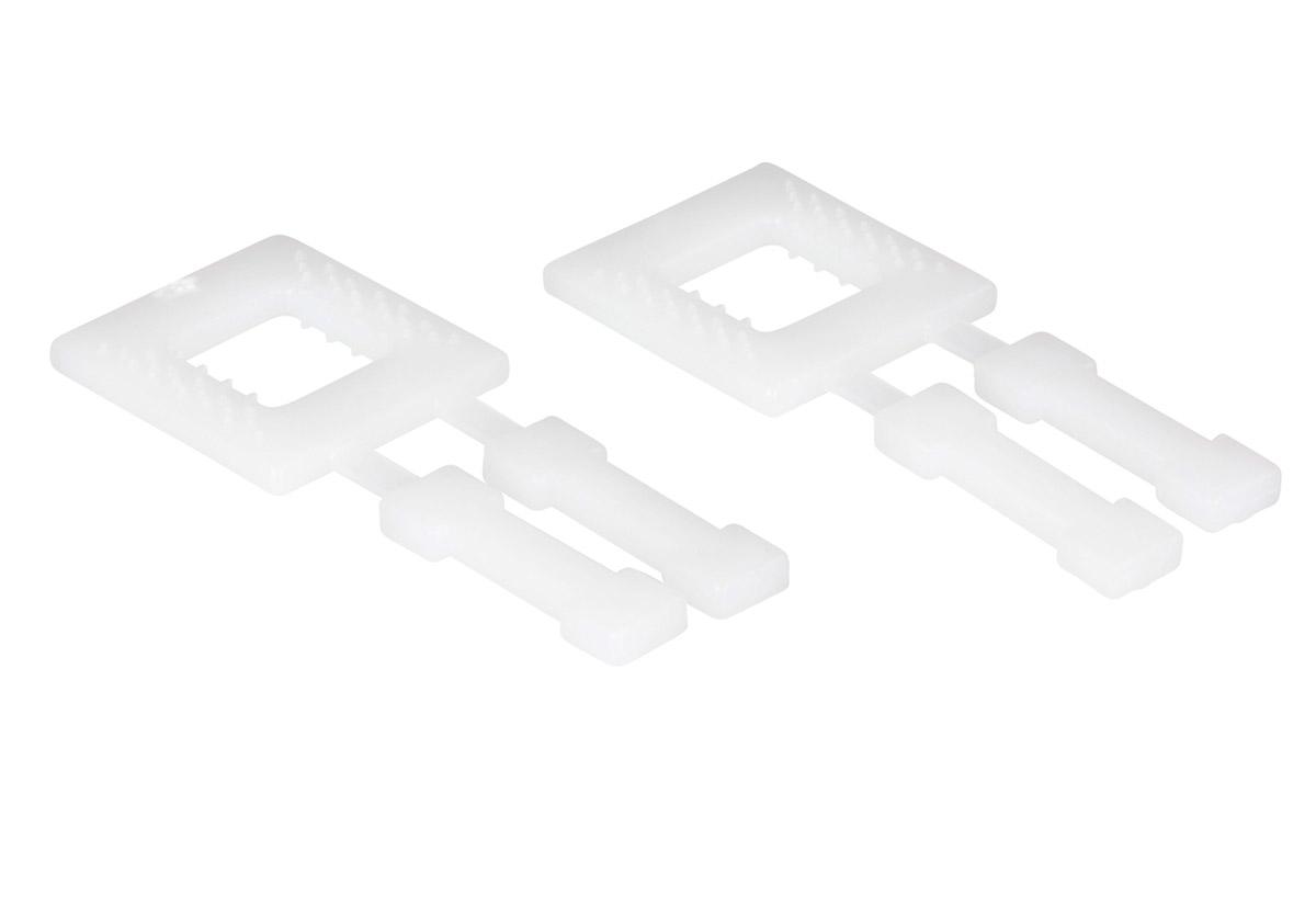 Kunstoffschnallen für Umreifungsbänder